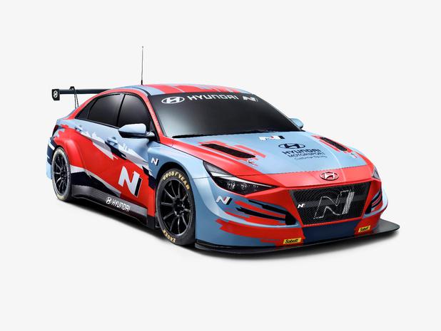 Hyundai Elantra gaat racen