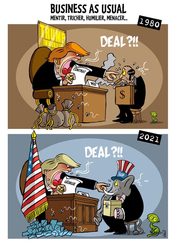Le Vadot de la semaine: Trump et le recomptage des voix