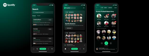 Spotify lance Greenroom, un clone de Clubhouse
