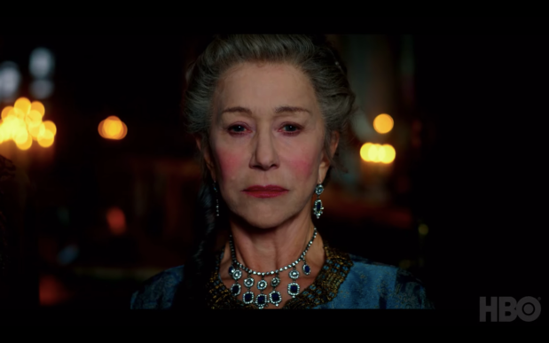 Helen Mirren à nouveau sur le trône dans Catherine the Great