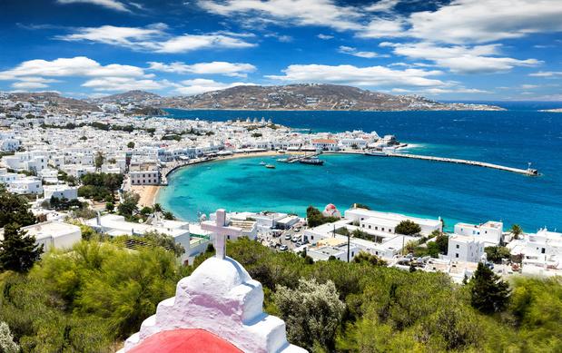 Transformée en île fantôme, Myconos attend ses touristes