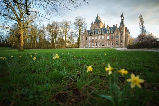 Het kasteel van Louvignies: ruisende rokken en buigende butlers