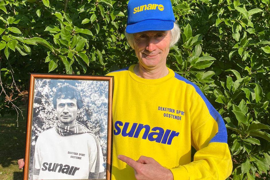 Freddy Declerck is de allergrootste supporter van Sunair Oostende