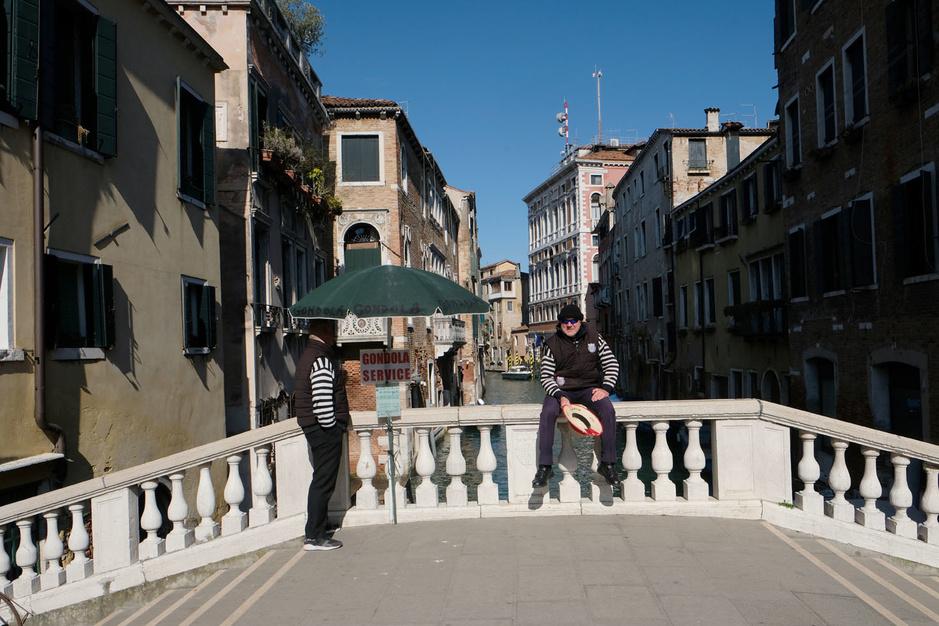 En images: Venise, vidée de ses touristes pour cause de coronavirus