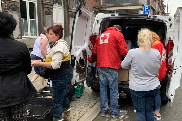 Rode Kruis coördineert noodhulp naar aanleiding van overstromingen