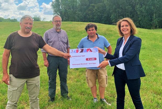 Ieper steunt aankoop natuurgebied Saint Nicolas met 5.000 euro