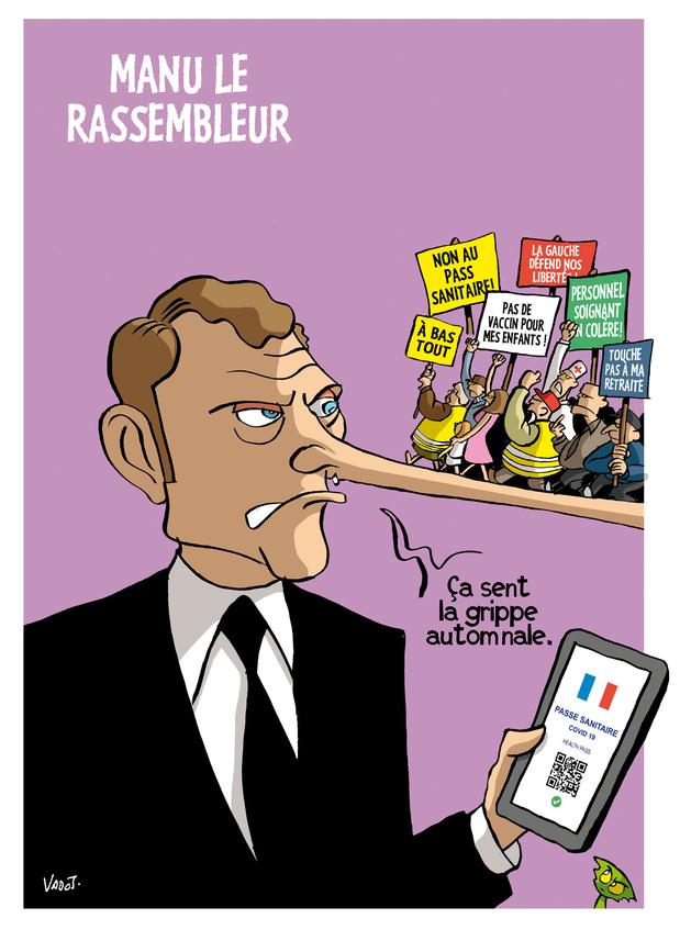 Les compléments de Vadot: Macron et le pass sanitaire, la vaccination et l'Afghanistan