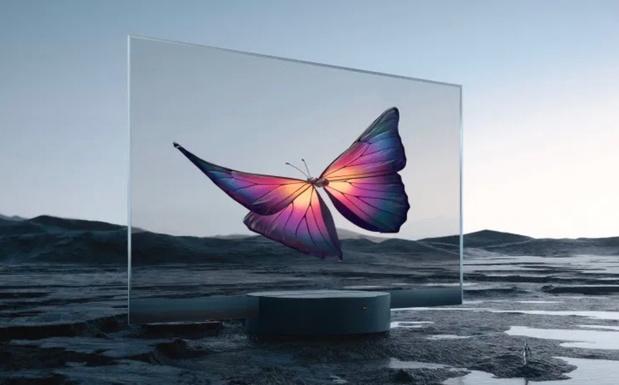 Transparante Xiaomi-tv komt naar België