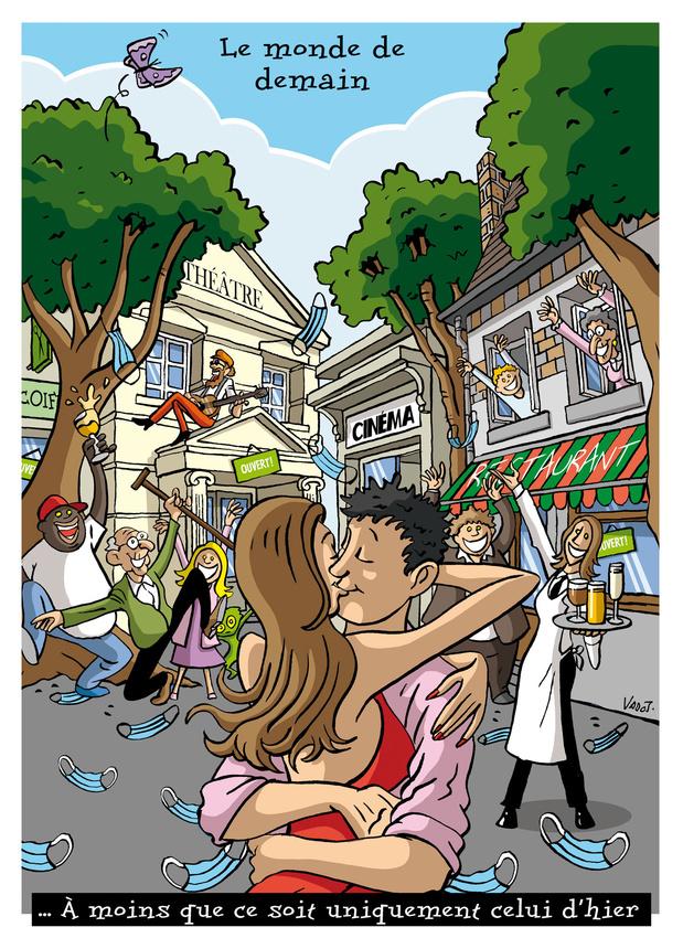 Les compléments de Vadot: le monde de demain, la santé mentale de la population et les voyages par procuration