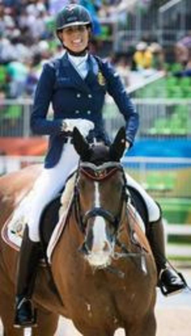 Michèle George médaille de bronze en para-dressage à l'Euro d'équitation