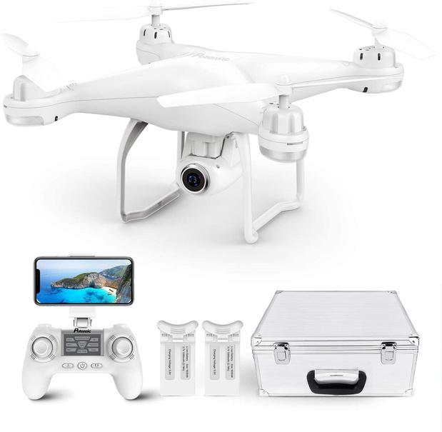 Cinq drones pour immortaliser vos vacances