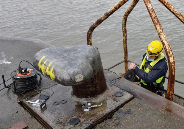 Port of Antwerp installeert slimme bolders op kaaimuren