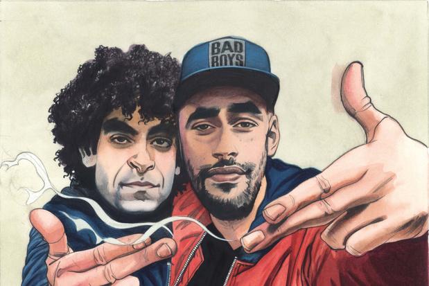 Adil en Bilall winnen Ensor voor internationale doorbraak