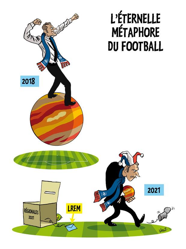 Le Vadot de la semaine sur Emmanuel Macron et les Bleus