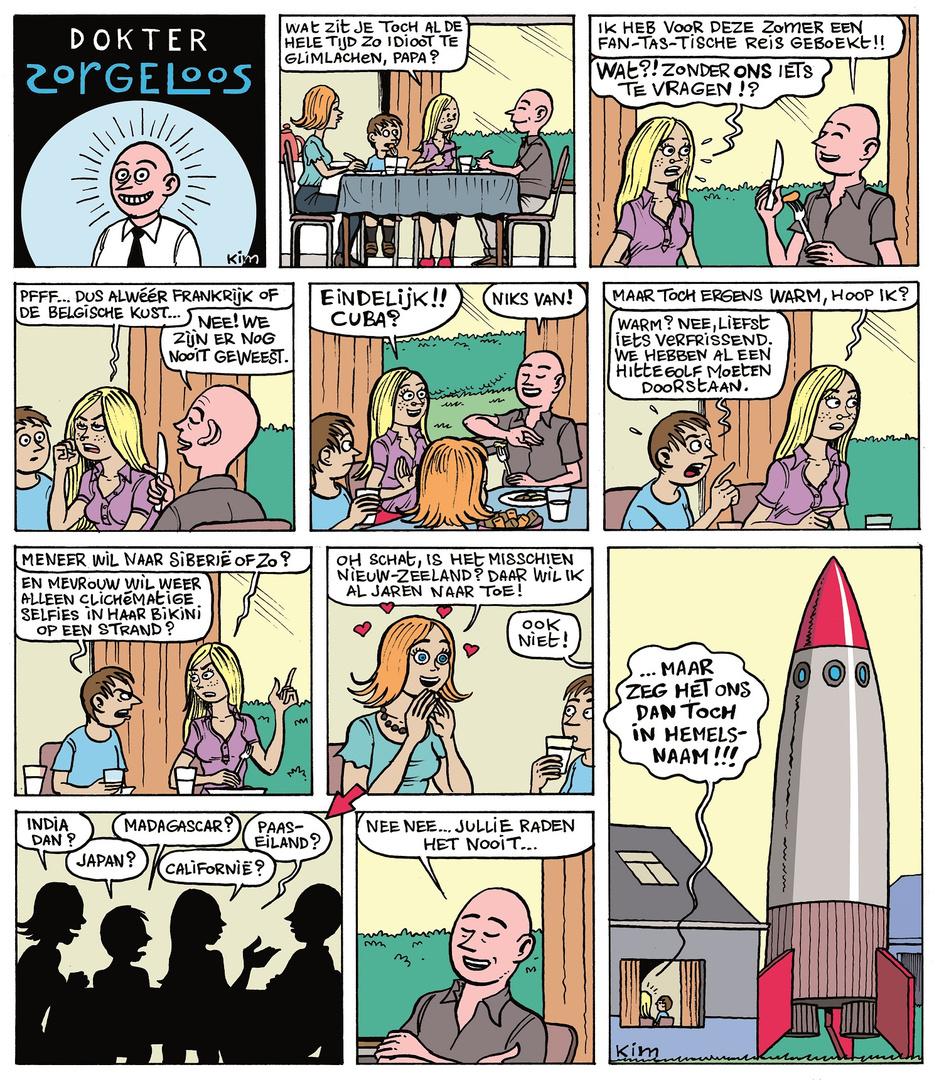 Cartoons van KIM
