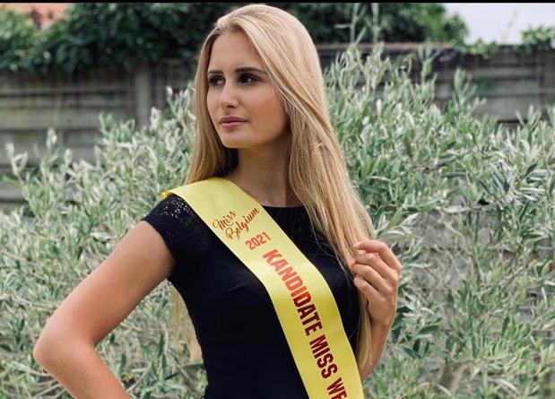 Na pijnlijke opgave vorig jaar droomt Michèle opnieuw van kroontje Miss West-Vlaanderen