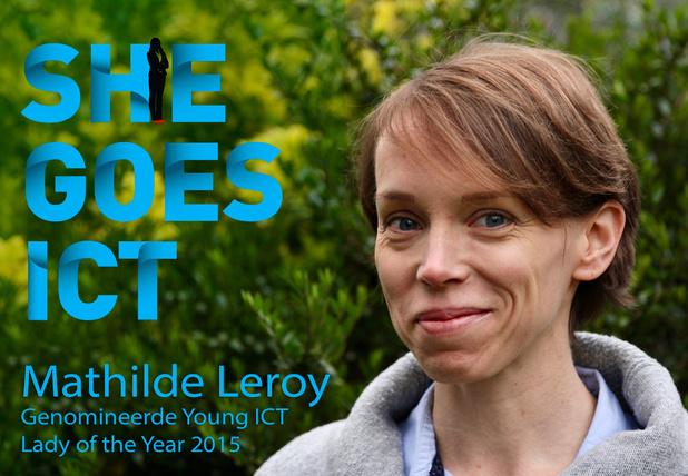 Mathilde Leroy, AWS: 'Een vrouw in de IT-sector is speciaal'