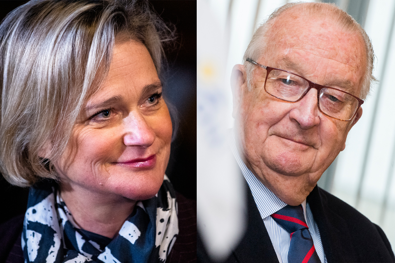 Le roi Albert II et Delphine Boël, BELGA IMAGE