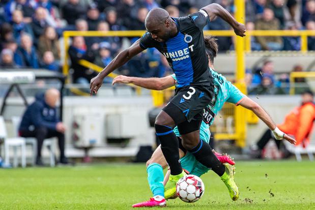Jupiler Pro League: le Club de Bruges bat Charleroi