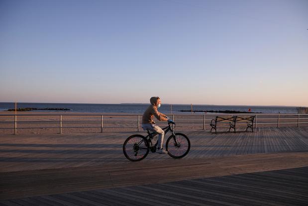 Le vélo, bouffée d'air et bouée de sauvetage dans New York confiné