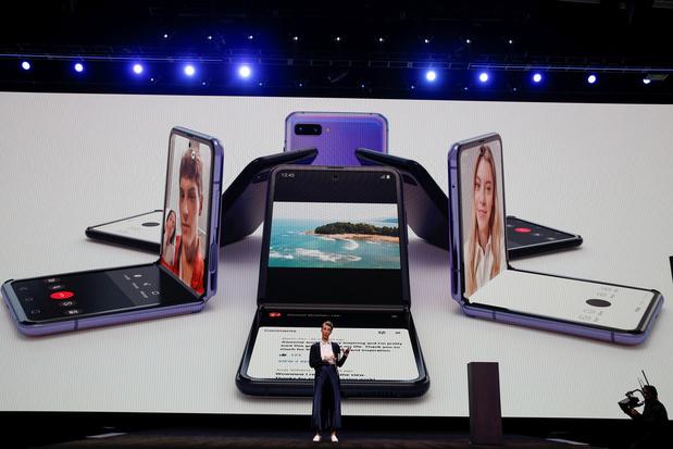 Samsung lance le premier smartphone compatible avec la 5G en Belgique