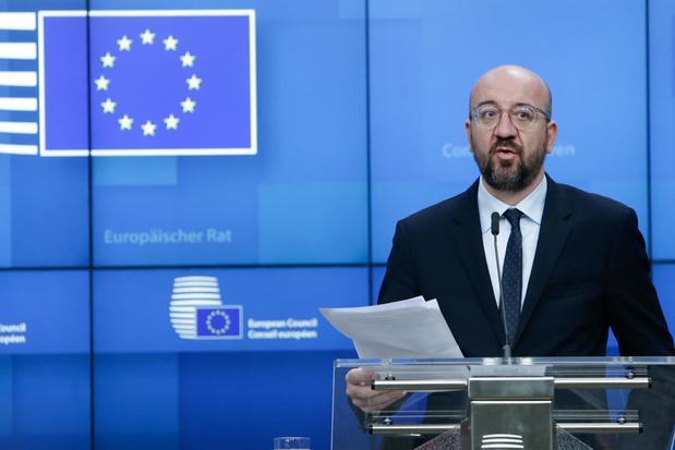 """Charles Michel : """"On ne peut pas reprocher tout et son contraire à l'UE"""""""