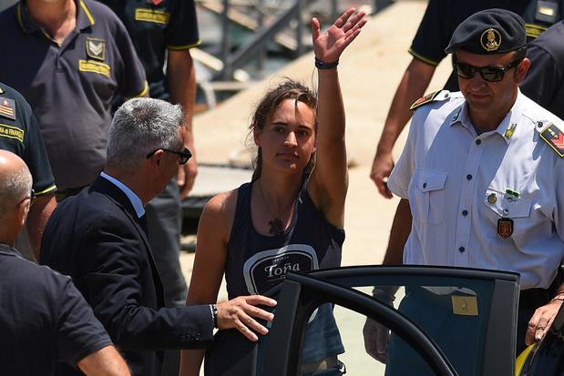 La capitaine du Sea-Watch 3 déclarée libre par la justice italienne