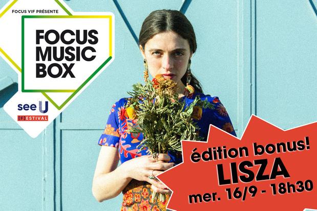 Notre festival Focus Music Box joue les prolongations avec Lisza!