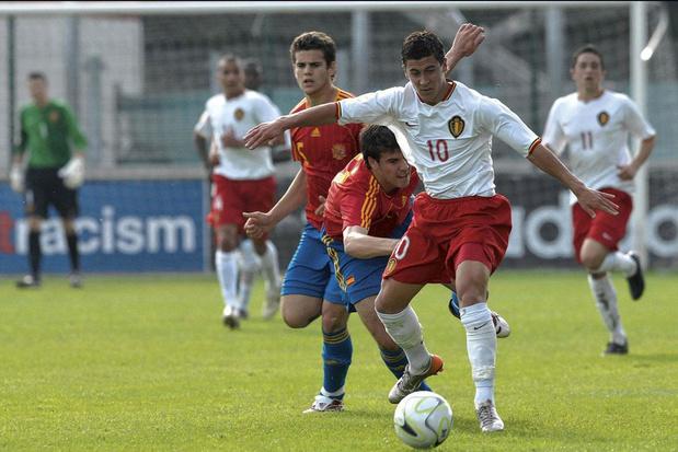 'Onze tactiek op het jeugd-EK in 2007? De bal aan Eden Hazard geven'