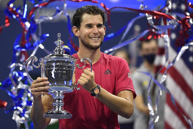 Dominic Thiem remporte son premier titre du Grand Chelem