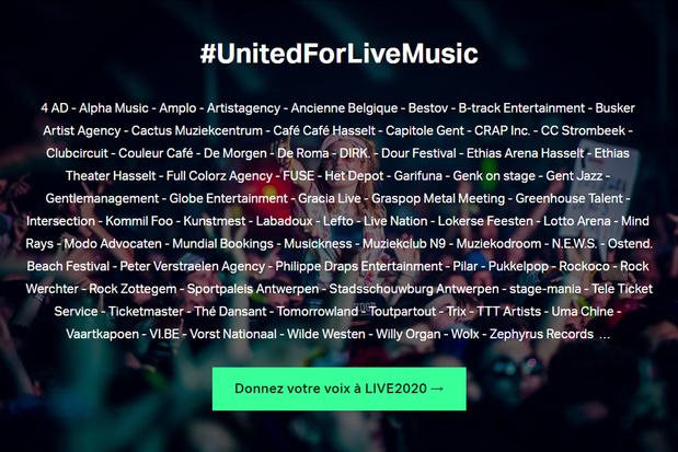 LIVE2020, un fonds de solidarité pour la musique live