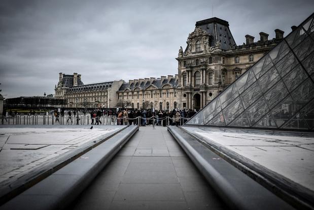 Le Louvre a perdu presque deux tiers de ses visiteurs en 2020