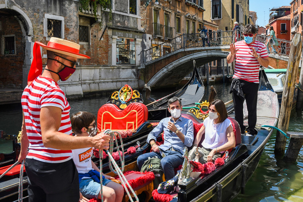 Les touristes de retour à Venise