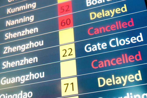 Les tour-opérateurs belges annulent leurs voyages vers la Chine