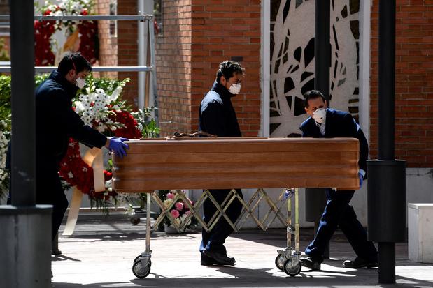 Coronavirus: le bilan en Espagne dépasse celui de la Chine avec 3.434 morts