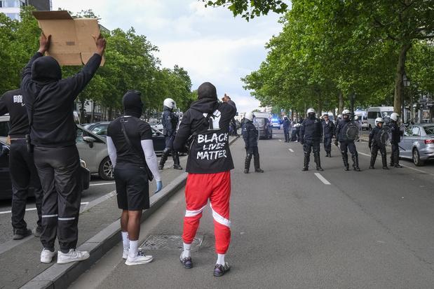 Manifestation contre le racisme : 239 arrestations après les incidents qui ont éclaté à Matonge