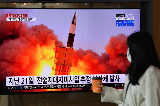 """Tirs de la Corée du Nord: des lanceurs de roquettes de """"gros calibre"""""""