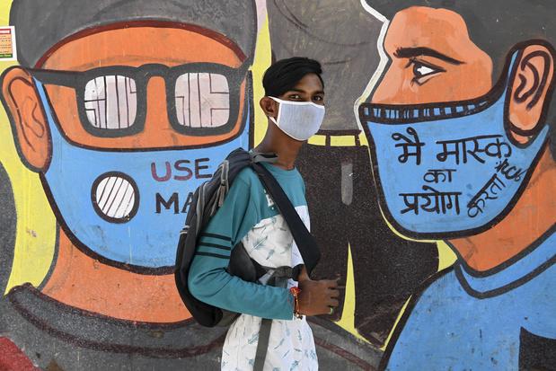 Inde: plus de 60 millions d'Indiens pourraient avoir été contaminés par le coronavirus