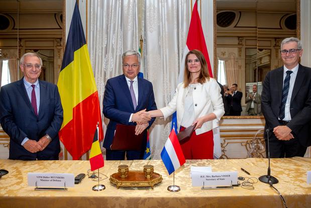 La Belgique et les Pays-Bas scellent l'achat de douze navires contre les mines