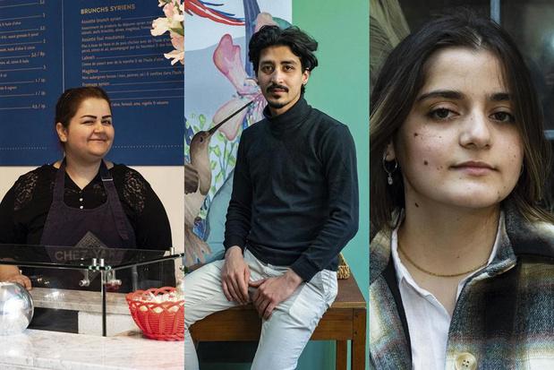 Un invincible printemps: trois Syriens arrivés en Belgique il y a dix ans témoignent