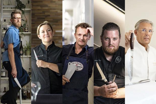 5 chefs belges nous parlent de leurs couteaux préférés