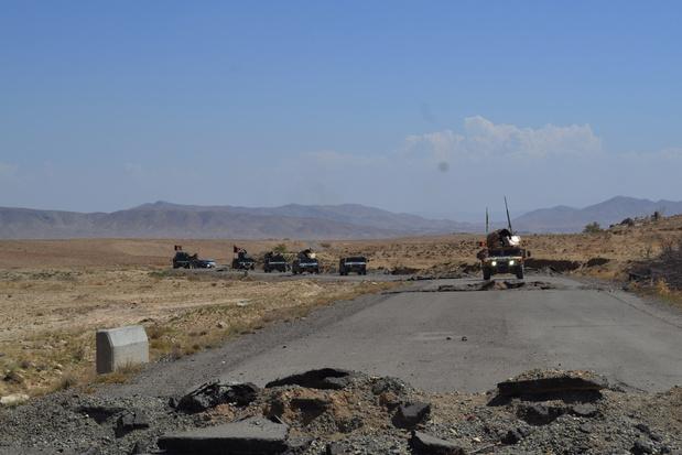 Illustration: la région de Ghazni