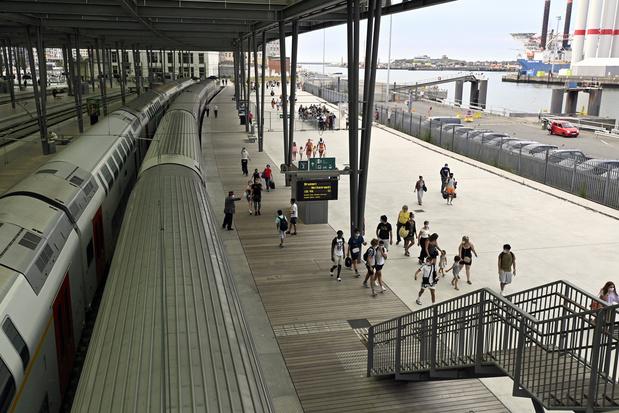 La foule ne se presse pas (encore) dans les trains vers la mer