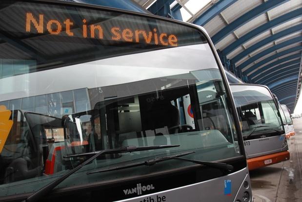 Itinéraires modifiés pour sept lignes de bus de la Stib à partir du 31 août