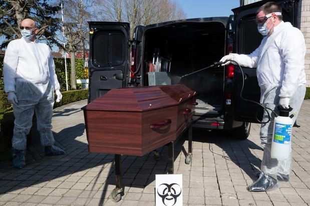 Surmortalité en Europe : la Belgique lourdement touchée