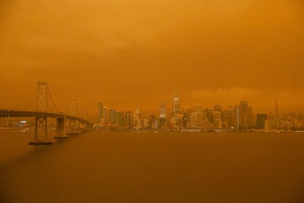 Scène d'apocalypse : la côte ouest américaine ravagée par les incendies
