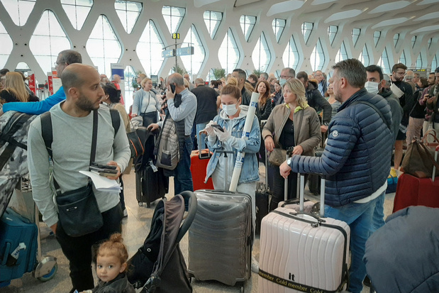 Belgique et Maroc trouvent un accord pour évacuer les touristes bloqués