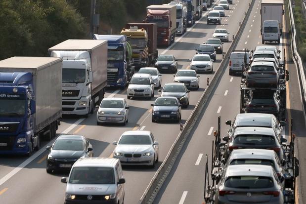 La plupart des infractions à la taxe kilométrique sont le fait de camions immatriculés à l'étranger