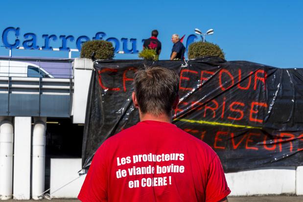Trois grands distributeurs français écopent de plus de 4 millions d'euros d'amendes