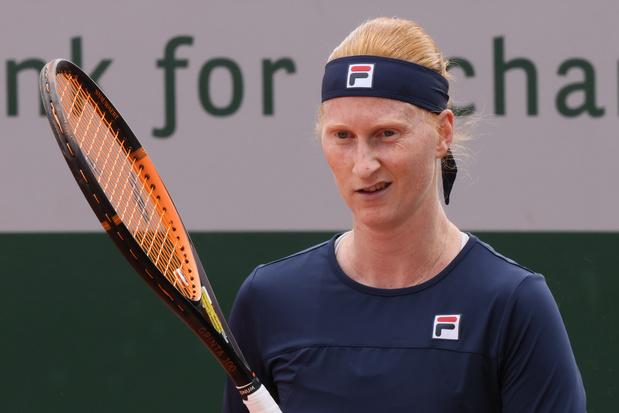 Alison Van Uytvanck, diminuée, abandonne au deuxième tour contre la Roumaine Bara